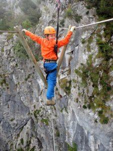 Roc'Aventure activités outdoor pleine nature via ferrata ariège couserans