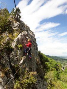 Horizon Vertical Roc'Aventure activités outdoor pleine nature Ariège Pyrénées Couserans