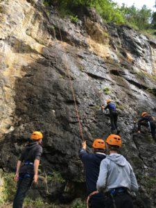 escalade ; Prat Bonrepaux ; Institutions; centre de loisirs; vacances ; scout ; St-Girons